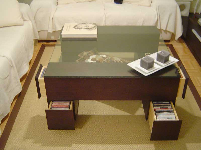 Diseño y fabricación de muebles y librerías de salón a medida