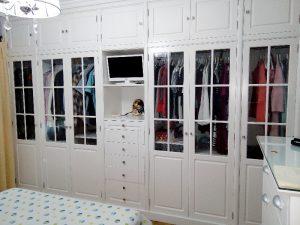 armario dormitorio de vitrina